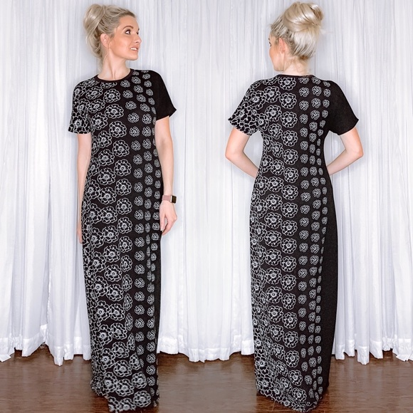 LuLaRoe Dresses & Skirts - LuLaRoe Black Maxi Dress